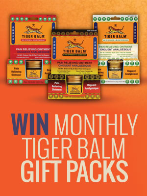 Win Monthly Tiger Balm Gift Packs