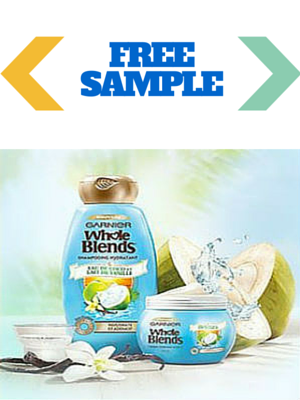 Free Sample Garnier Whole Blends