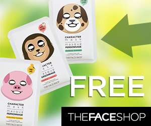 Free TheFaceShop Character Face Mask