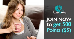 Join UzerVoice for a $5 Bonus