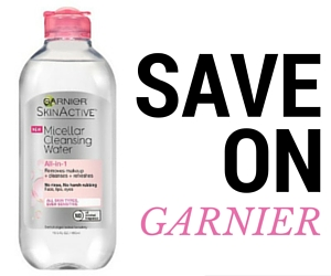 Save $2 off Garnier Skinactive Micellar Water