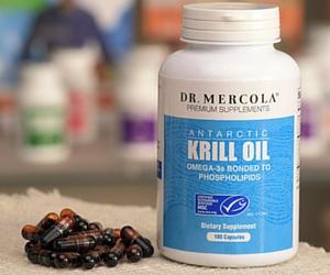 Free Sample Dr. Mercola Antarctic Krill Oil