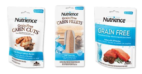 50 ¢ off Nutrience Grain-Free Cabin Fillet Treats