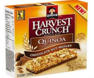 Quaker Harvest Quinoa Granola Bars Recall