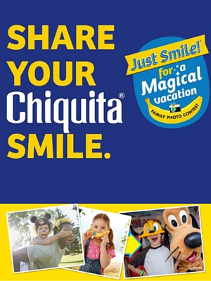 Win a Trip to Walt Disney World with Chiquita