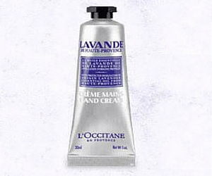 Free Sample L'Occitane Lavender Hand Cream