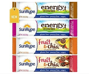 Buy One, Get One Free Sunrype Energy or Fruit & Chia Bars