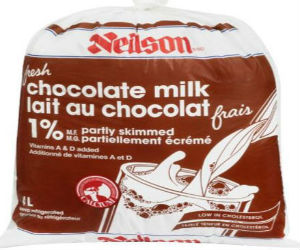 Neilson brand Partly Skimmed Chocolate Milk Recall
