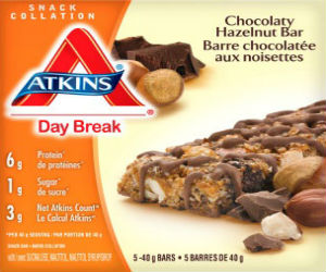 Atkins brand bars Food Recall