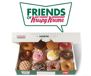 Join Friends of Krispy Kreme & Get a Free Doughnut