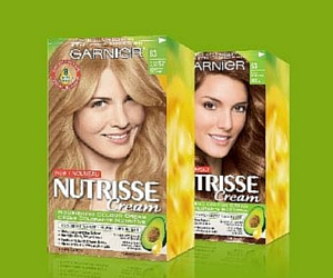 Win 5 years of Garnier Nutrisse Cream Hair Colour