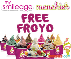 Get Birthday Freebies with Menchie's Smileage Club