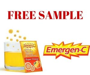 Free Sample Emergen-C Vitamin