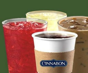 $1 Happy Hour Drinks at Cinnabon