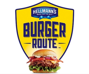 Win $15,000 in Prizes With Hellmann's Burger Route