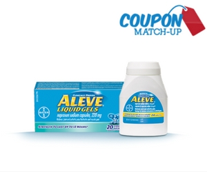 $1.99 for 20 Aleve Liquid Gels