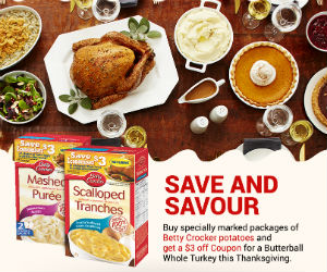 Save $3 on a Butterball Turkey