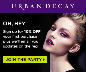Sign Up & Save With Urban Decay