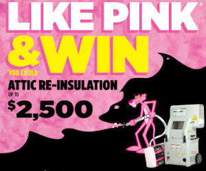 Win $2,500 in Attic Re-insulation, a Toolbox & More!
