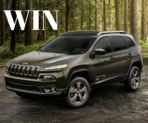 Win a 2017 Jeep Cherokee 75th Anniversary Edition