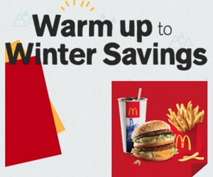 Save at McDonald's