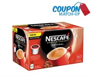 Half Off Nescafe Pods