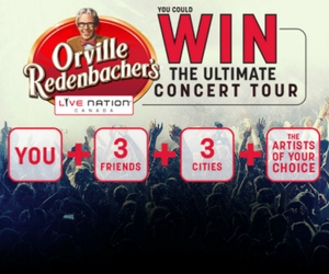 Win the Ultimate Concert Tour