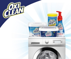 Win a Laundry Room Makeover from Oxi Clean