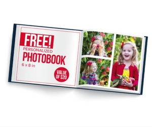 Free Personalized Photobook from Allen's