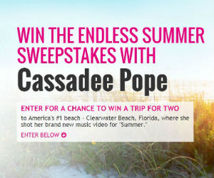 Win a Trip to Clearwater Beach, Florida