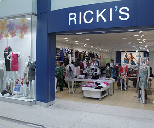 Save $5 off at Ricki's