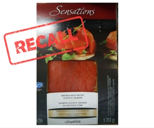 Wild Sockeye Smoked Salmon Recall