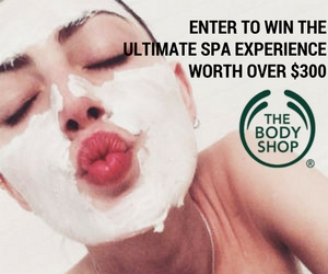 Win the Ultimate Spa Experience from The Body Shop