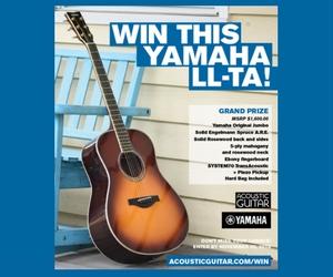 Win a $1,600 Yamaha Acoustic Guitar