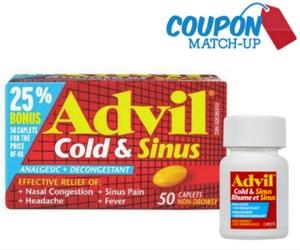 Advil Cold & Sinus Match-Up