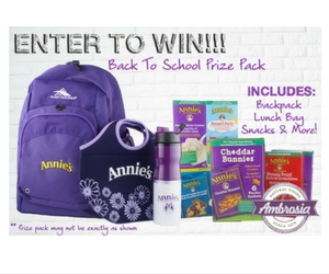 Win an Ambrosia Natural Food Prize Pack