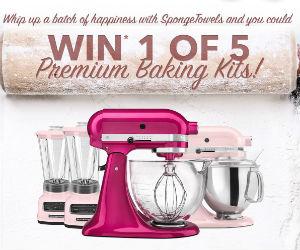 Win 1 of 5 Premium Baking Kits