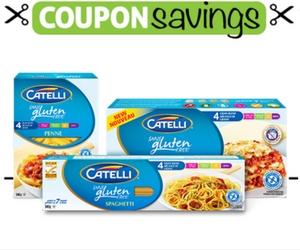 Save $1 on Catelli Gluten Free Pasta