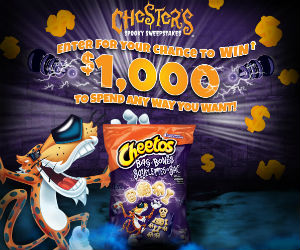 Chester's Spooky Sweepstakes