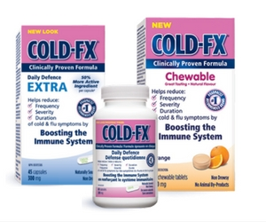 Save $2 Off Cold-FX, Cold-FX Chewable or Extra
