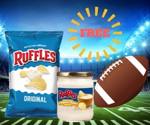 Buy 3 Bags of Ruffles and Get a Free Dip