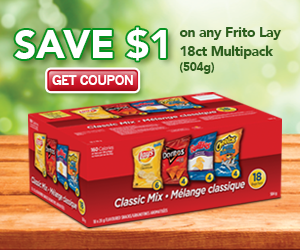 Save $2 on Frito-Lay Multipack