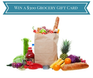 Win a $300 Grocery Gift Card