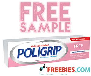 Free Sample Poligrip Adhesive