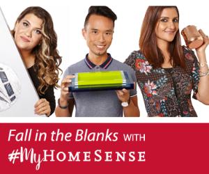 Win a $1,000 HomeSense Gift Card