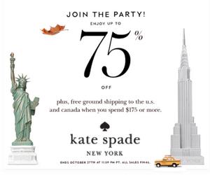 Kate Spade 75% Off Surprise Sale
