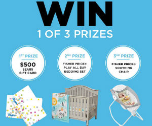 Win 1 of 3 Baby Prizes from Sears