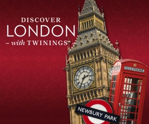 Win a Trip to England with Twinings