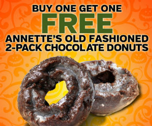 BOGO Chocolate Donuts at Mac's