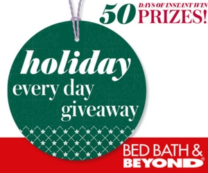 Bed Bath & Beyond Holiday Everyday Giveaway